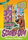 Zabawy z naklejkami. Scooby Doo