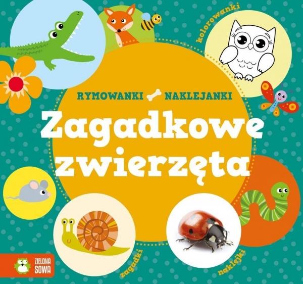 Zagadkowe zwierzęta Rymowanki-Naklejanki