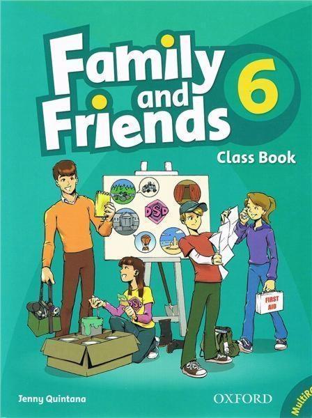 Family & Friends 6 SB +MultiRom Jenny Quintana