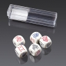 Kości do gry Piatnik Pokerowe 16mm  (297090)