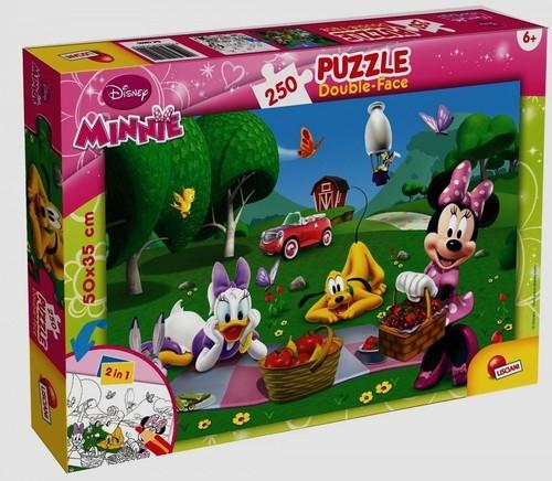 Puzzle dwustronne 250: Myszka Miki i przyjaciele (48090)