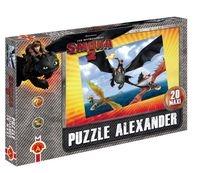 Puzzle Maxi 20: Jak wytresować smoka 2 Lot nad morzem (1009)