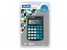 Kalkulator Milan kieszonkowy touch z satynową matową powłoką w dotyku jak gumka na blistrze