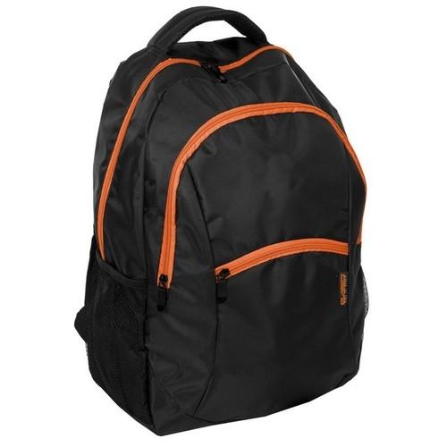 Plecak młodzieżowy  czarno-pomarańczowy