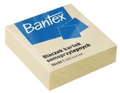 Kartki samoprzylepne, 50x50 240k - żółte (400086400)