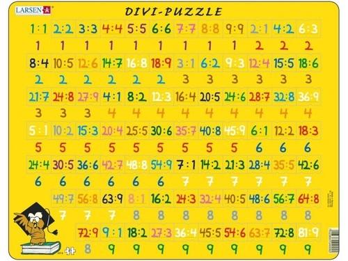 Puzzle Matematyka - Dzielenie