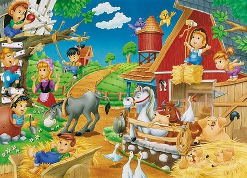 Farma Puzzle Maxi 60
