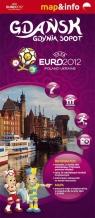 Danzig Gdingen Zoppot / Gdańsk, Gdynia, Sopot Euro2012 mapa i przewodnik