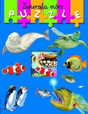 Zwierzęta mórz. Moja pierwsza książeczka z puzzlami praca zbiorowa