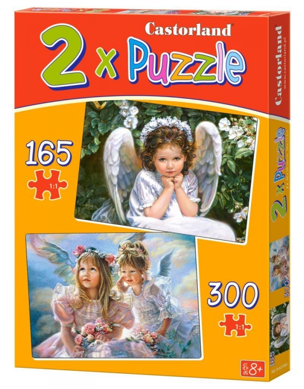 Puzzle 2W1 Sweet Angels (021093) .