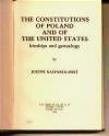 Constitutions of Poland Kasparek-Obst