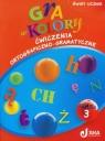 Gra w kolory 3 Ćwiczenia ortograficzno-gramatyczne