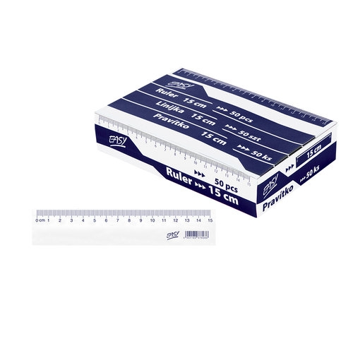 Linijka 15cm 50 sztuk