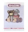 Karnet Urodzinki miś i króliczek DK-205