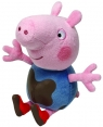 Maskotka Beanie Babies Świnka Peppa - ubłocony George 15 cm (TY 46209)