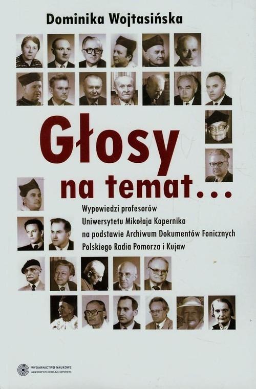 Głosy na temat + CD Wojtasińska Dominika