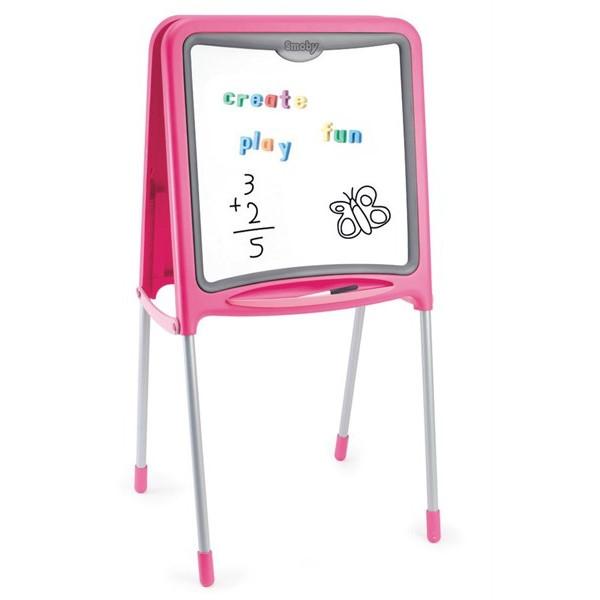 SMOBY Różowa tablica na nóżkach (7600028109)