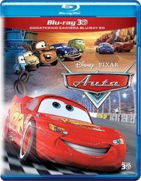 Auta 3D (Disney Pixar) (2Blu-ray)