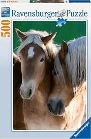 Puzzle 500 Portret koni (142095) RAP142095