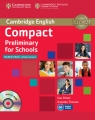 Compact Preliminary for Schools Student's Book + CD Elliott Sue, Thomas Amanda