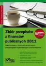 Zbiór przepisów z finansów publicznych 2011