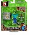 Minecraft - Zombie + akcesoria (MIN16509)