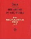 Artists World Bio-Biblio v 5 Index Profession (Englisch)