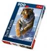 Puzzle Śnieżny tygrys 500 (37009)