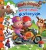 Koloruj i układaj Motocykle Mały chłopiec