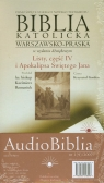 Biblia katolicka warszawsko praska Listy część 4 i Apokalipsa Świętego Jana CD