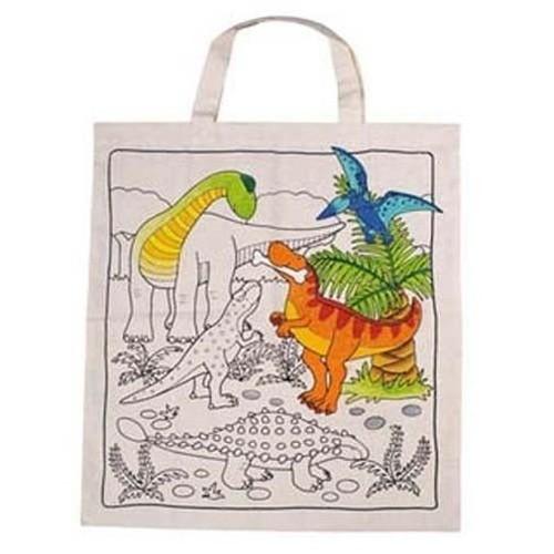 Torba do kolorowania Dinozaury