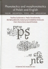 Phonotactics and morphonotactics of Polish and English
