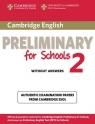 Cambridge English Preliminary for Schools 2 Student's Book