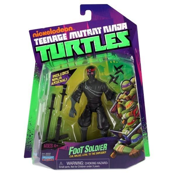 TURTLES Żółwie Ninja Fig . Foot Soldier12 cm