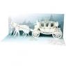 Kartki 3D Wedding Carriage (A210) Asortyment ogólny / Panorama