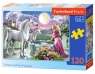 Puzzle 120: Princess and her Unicorns (13098)