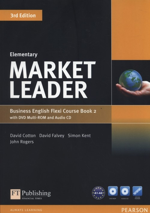 Market Leader Elementary Flexi Course Book 2 +CD +DVD Cotton David, Falvey David, Kent Simon, Rogers John