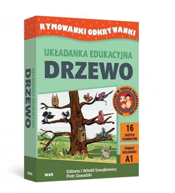 Rymowanki Odkrywanki - Układanka eduk. Drzewo Elżbieta i Witold Szwajkowscy