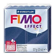 Masa termoutwardzalna Fimo Effect niebieska metaliczna