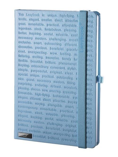Notes A6 Lanybook The One II w kratkę niebieski