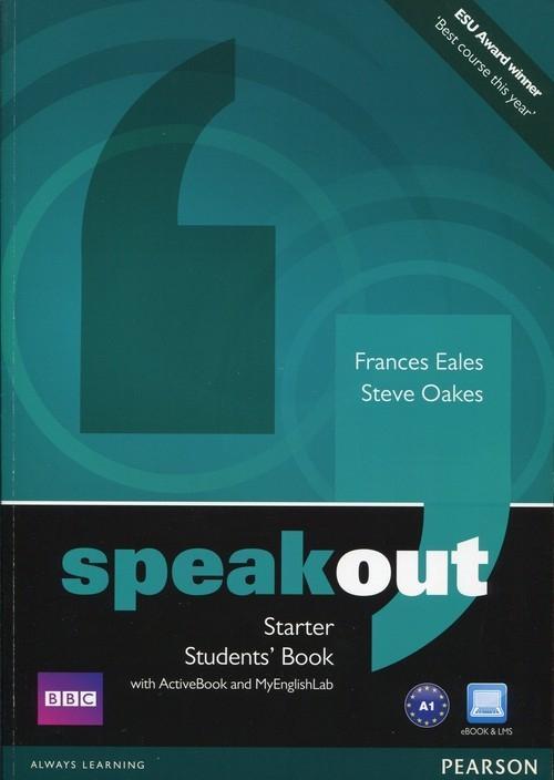 Speakout Starter Students' Book + DVD Eales Frances, Oakes Steve