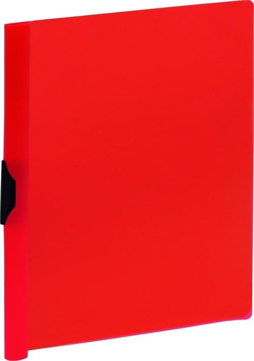 Skoroszyt z klipsem A4 Grand GR-505K czerwony