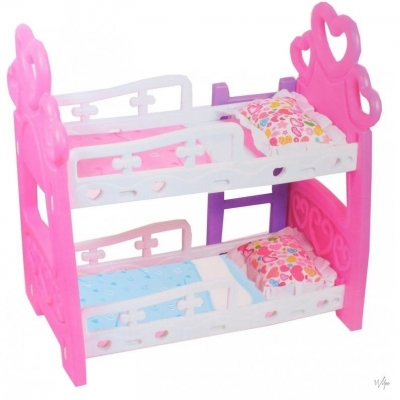 Cute Baby 8010 Piętrowe łóżko dla lalek