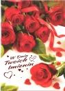 Karnet B6 Kwiaty W Dniu Twoich Imienin FF1277
