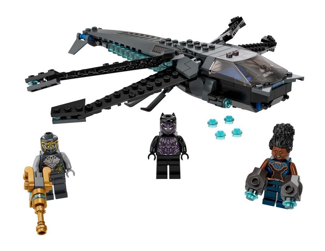 Lego Marvel Super Heroes: Helikopter Czarnej Pantery (76186)