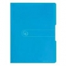 Teczka A4/20 z wkładem Easy Orga Niebieska transp.