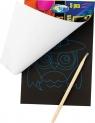 Kartki do grawerowania z patyczkiem bambusowym 5K
