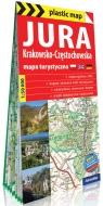 Jura Krakowsko-Częstochowska; foliowana mapa turystyczna 1:50 000