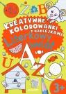 Kreatywne kolorowanki z naklejkami Literkowy świat
