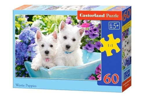 Puzzle 60: Westie Puppies